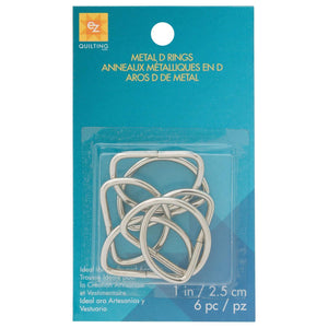"Metal D-Rings 1""-Notion-Spool of Thread"