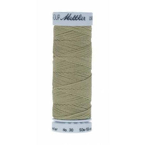 Mettler Metrosene Cordonnet Polyester Thread 50m Spanish Moss-Notion-Spool of Thread