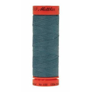 Mettler Metrosene Polyester Thread 150m Blue Green Opal-Notion-Spool of Thread