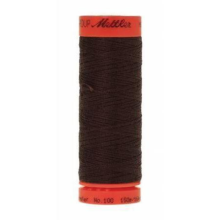 Mettler Metrosene Polyester Thread 150m Very Dark Brown-Notion-Spool of Thread
