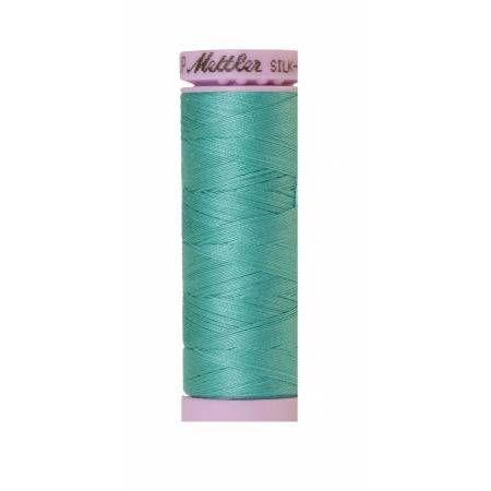 Mettler Silk Finish Cotton Thread 150m Deep Aqua-Notion-Spool of Thread