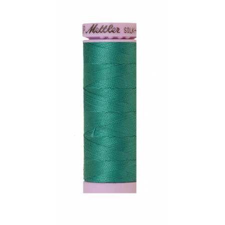 Mettler Silk Finish Cotton Thread 150m Green-Notion-Spool of Thread
