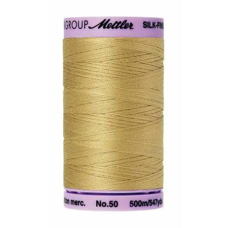 Mettler Silk Finish Cotton Thread 500m New Wheat-Notion-Spool of Thread