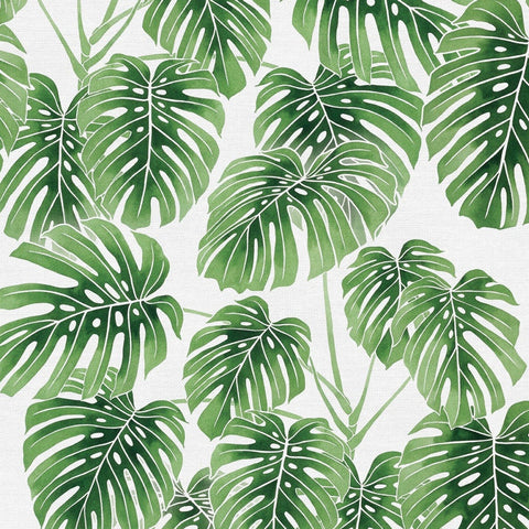 Modern Botanicals Monstera Green ½ yd-Fabric-Spool of Thread