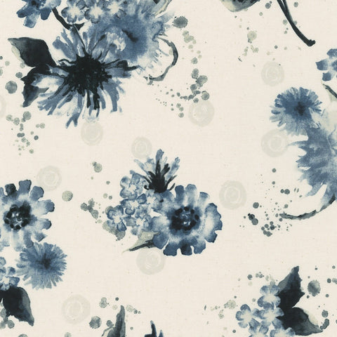 Natural Blooms Flower Natural ½ yd-Fabric-Spool of Thread