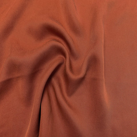 Quadra Lyocell Twill Paprika ½ yd-Fabric-Spool of Thread