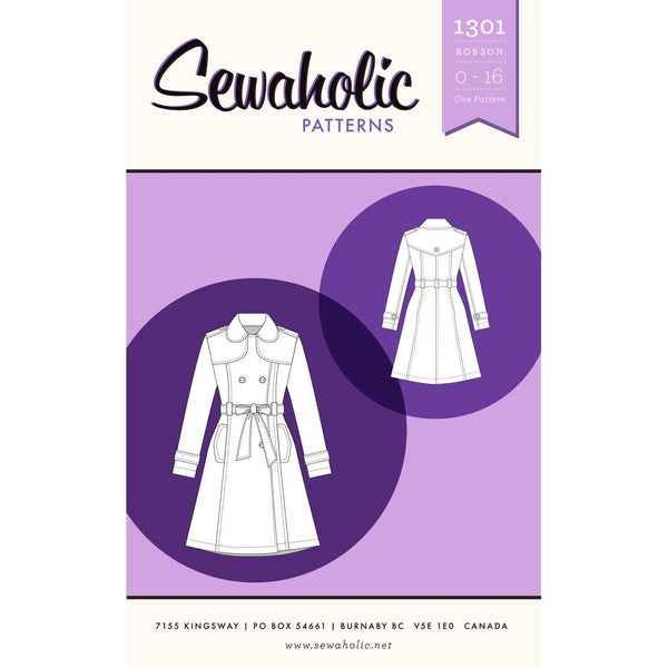 Sewaholic Robson Coat Paper Pattern-Pattern-Spool of Thread
