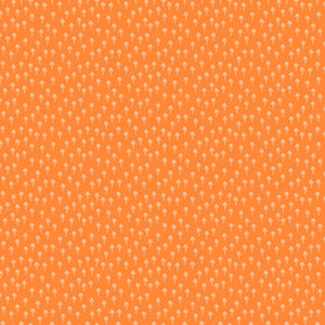 Squeeze Cones Orange ½ yd-Fabric-Spool of Thread