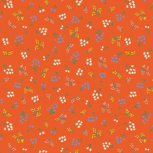 Strawberry Fields Petit Fluers Red ½ yd-Fabric-Spool of Thread