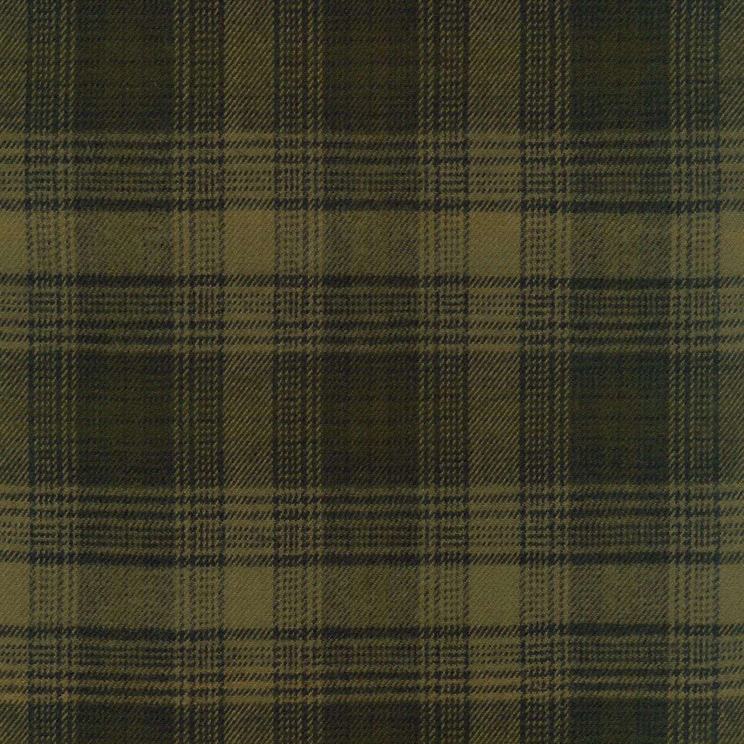 Tahoe Flannel Plaid Olive ½ yd-Fabric-Spool of Thread