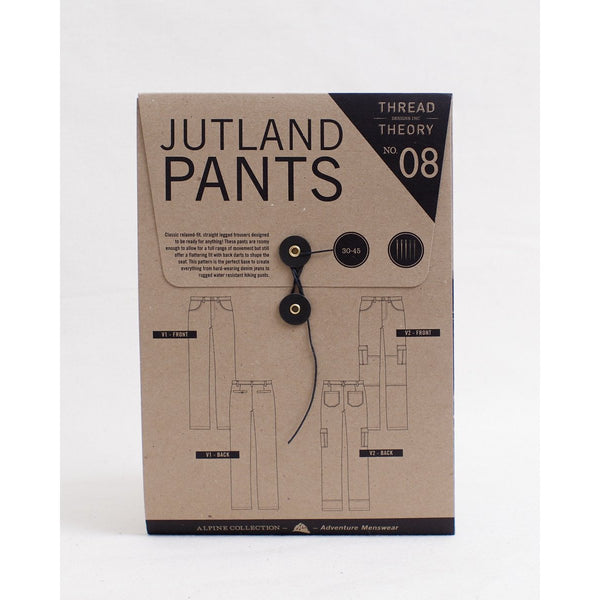 Thread Theory Jutland Pants Paper Pattern-Pattern-Spool of Thread