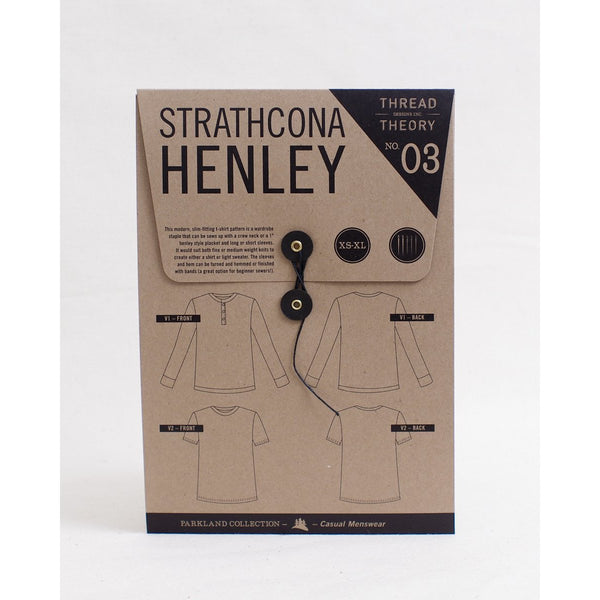 Thread Theory Strathcona Henley Paper Pattern-Pattern-Spool of Thread