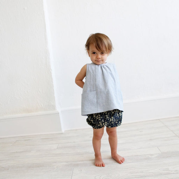 Wiksten Baby and Toddler Bloomers and Pants Paper Pattern-Pattern-Spool of Thread