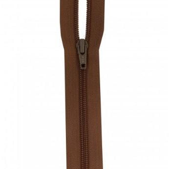 Zipper 2-way Jumpsuit 22-inch Brown-Notion-Spool of Thread