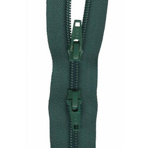 Zipper 2-way Jumpsuit 22-inch Green-Notion-Spool of Thread