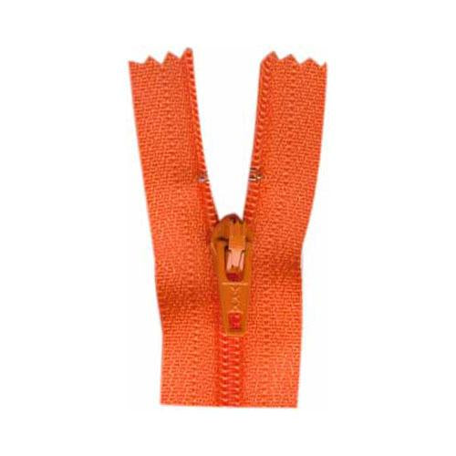 Zipper Tape 7-inch Tangerine-Notion-Spool of Thread