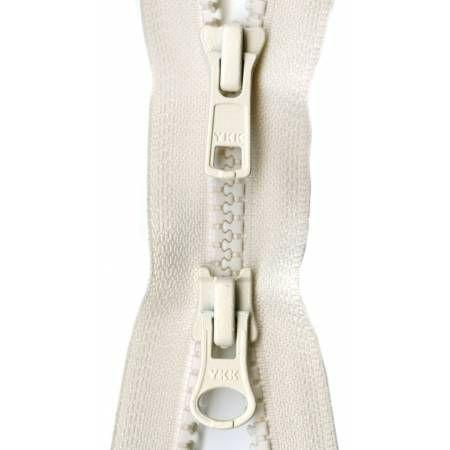 Zipper Vislon 2-way Separating 30-inch Off-White-Notion-Spool of Thread