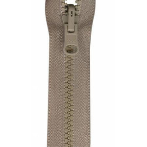 Zipper Vislon Reversible Separating 30-inch Beige-Notion-Spool of Thread