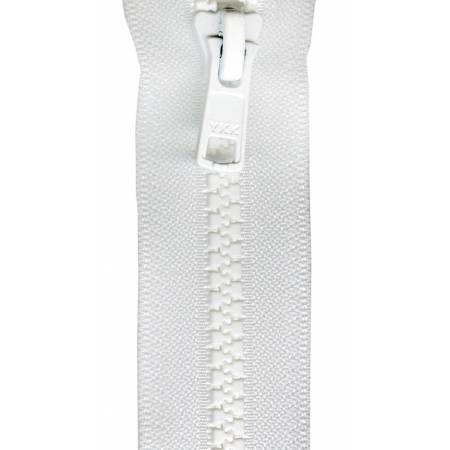 "Zipper Vislon Separating 28"" White-Notion-Spool of Thread"