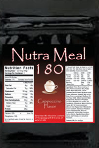Nutra-Meal 180 Cappucino