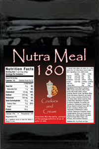 Nutra-Meal 180 Cookies and Cream