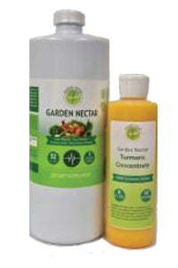 Garden Nectar 32 oz With 8 oz Turmeric Concentrate