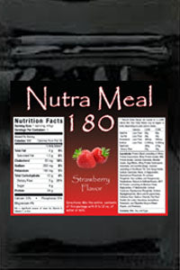 Nutra-Meal 180 Strawberry