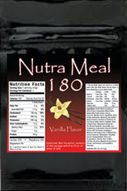 Nutra-Meal 180 Combo Pack (2 each of Chocolate, Vanilla & Strawberry)