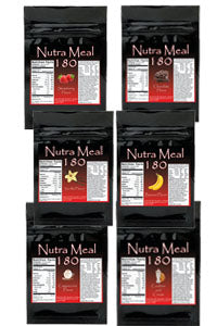 Nutra-Meal 180 Combo (6 different flavors)