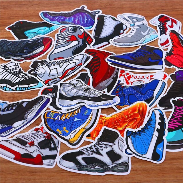 "The ""Kicks On Fire"" Pack (35 Stickers)"