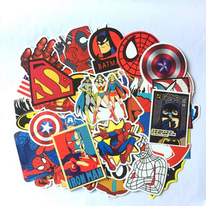 "The ""Marvel"" Pack (50 Stickers)"
