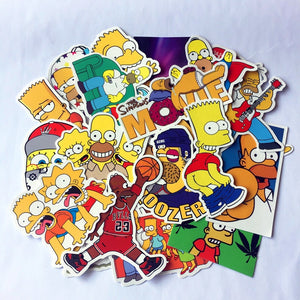 "The ""Simpsons"" Pack (25 Stickers)"