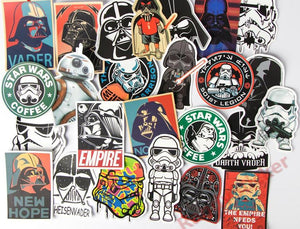 "The ""Vader"" Pack (25 Stickers)"