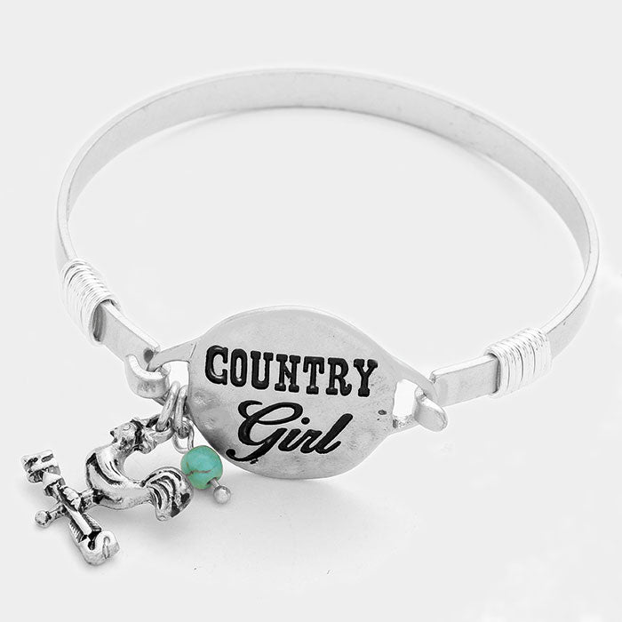 Country Girl Hook Bracelet