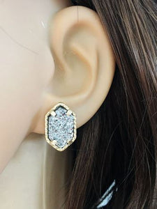 Druzy Stone Earrings