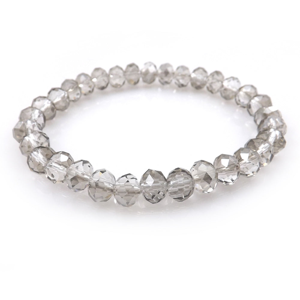 Grey Faceted Bracelet