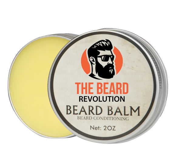 The Beard Revolution®️ |Natural Beard Balm |Beard Conditioning Formula With Sandalwood Aroma