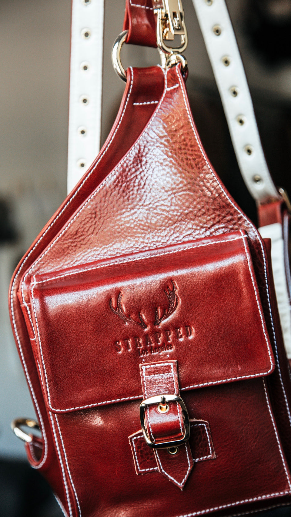 Holster Bag in Red