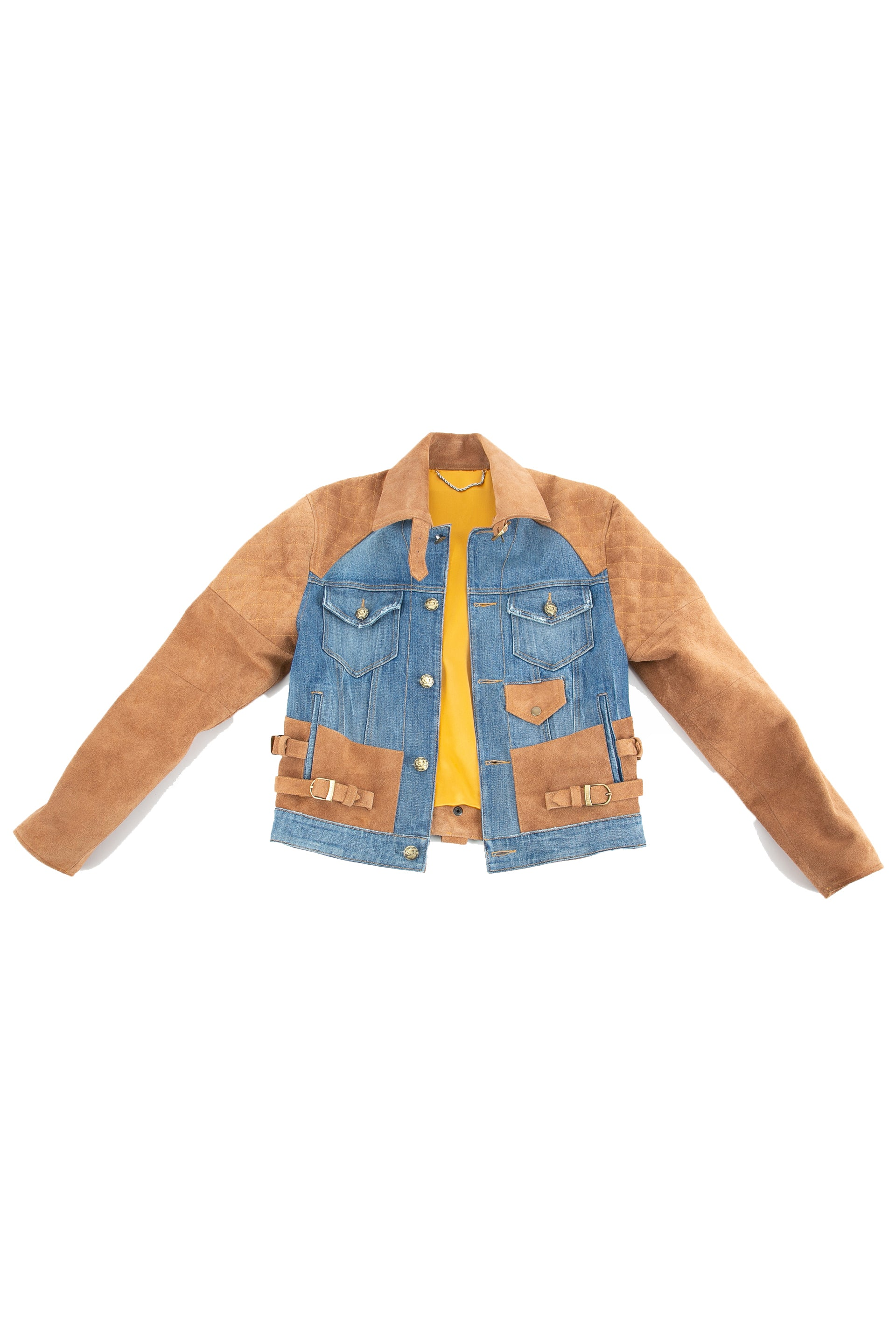 Front of 18 Karat Suede Jacket