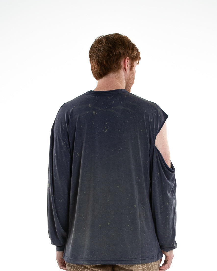 High Brow Long Sleeve in Navy Denim
