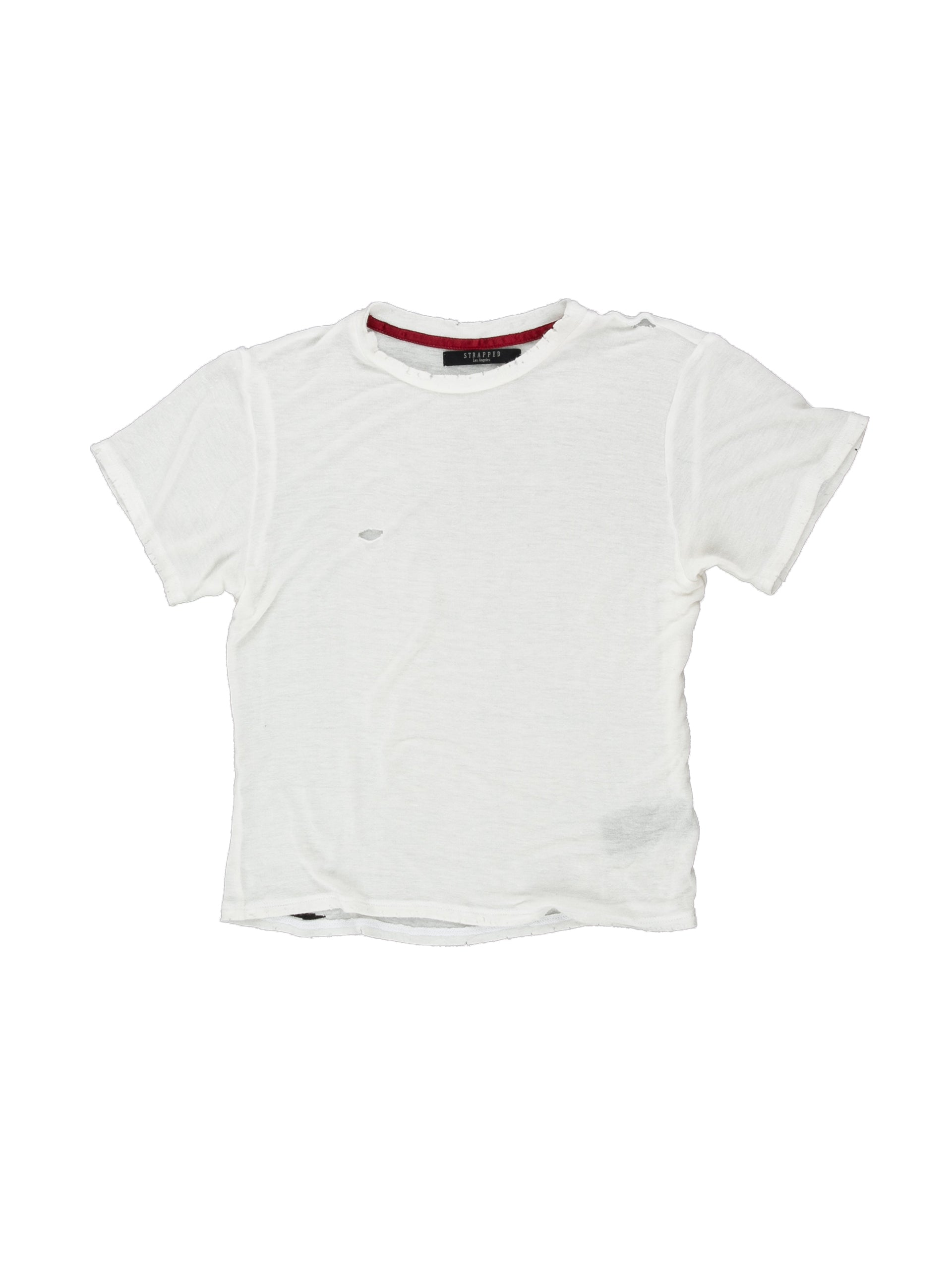 Front of Boxy Tee in Ivory