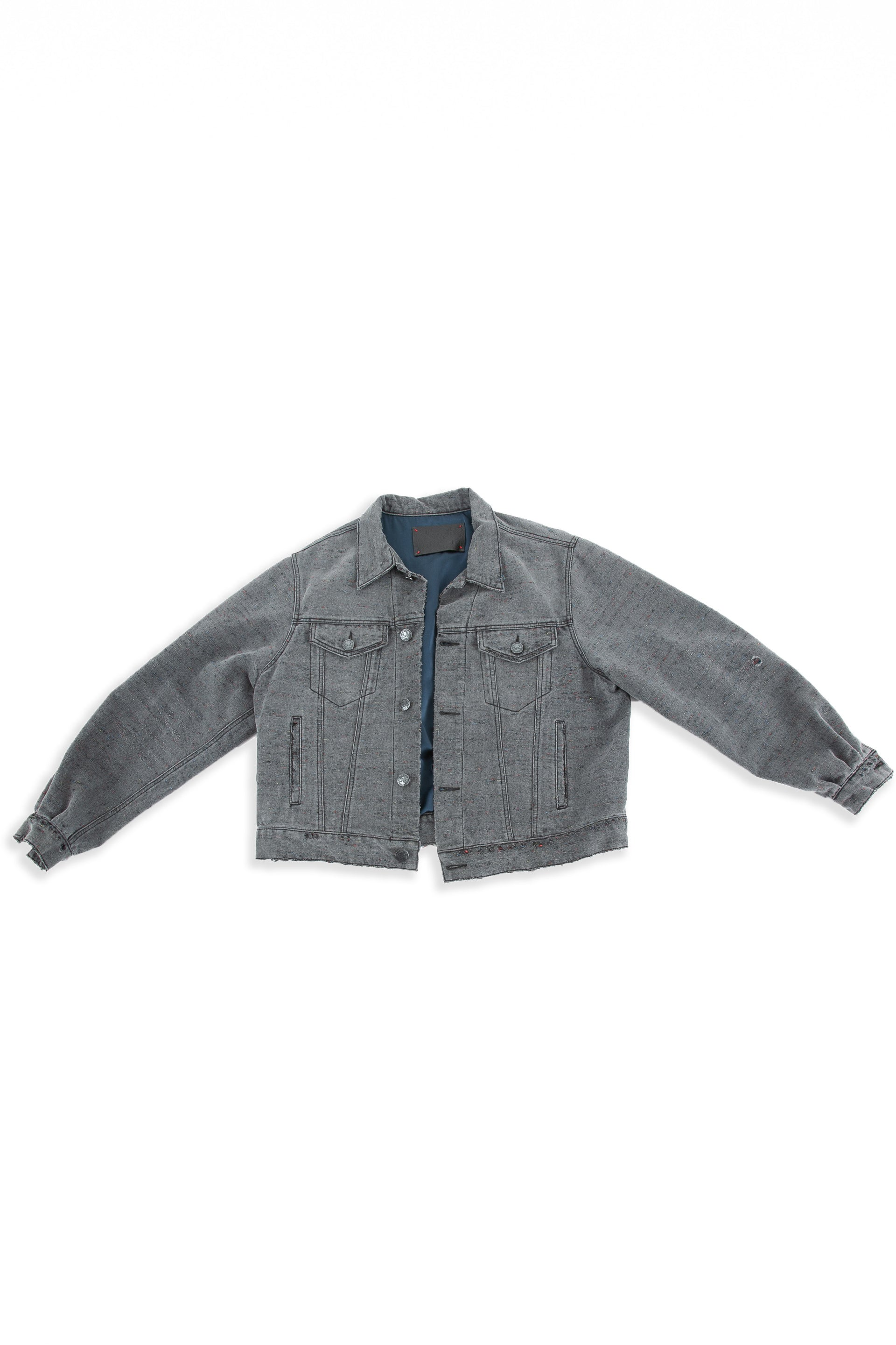 Front of Midnight Denim jacket