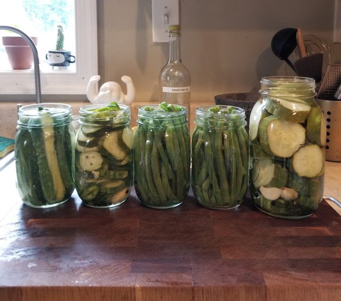Dad's Fridge Pickles