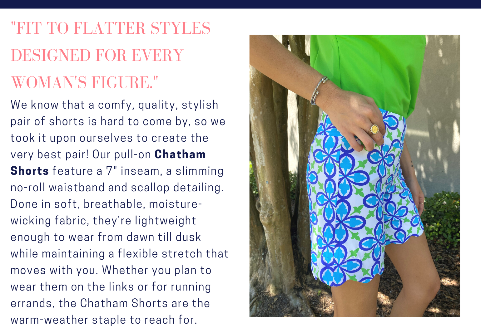 May 2021 Deen's List Style of the Month Chatham Shorts