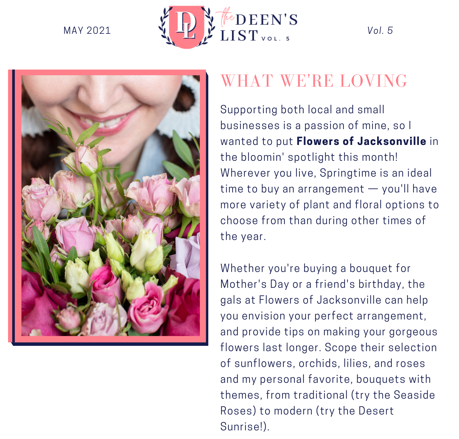 What We're Loving May 2021 Deen's List