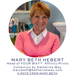 Meet Mary Beth Hebert Affinity Print by Katherine Way