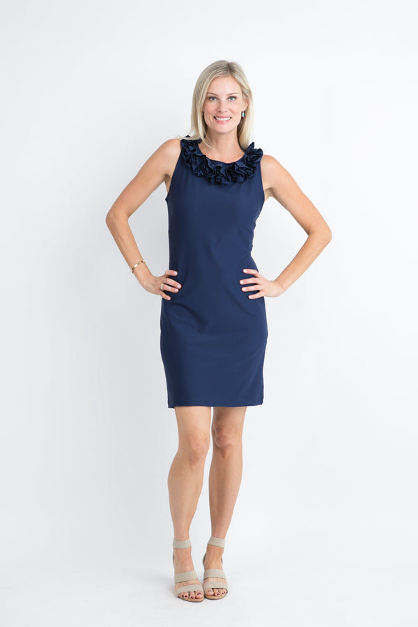 AUR DRESSES Katherine Way Collections Navy XS