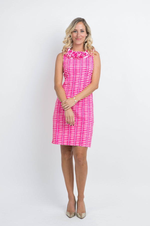 AUR DRESSES Katherine Way Collections Shibori Geranium XS