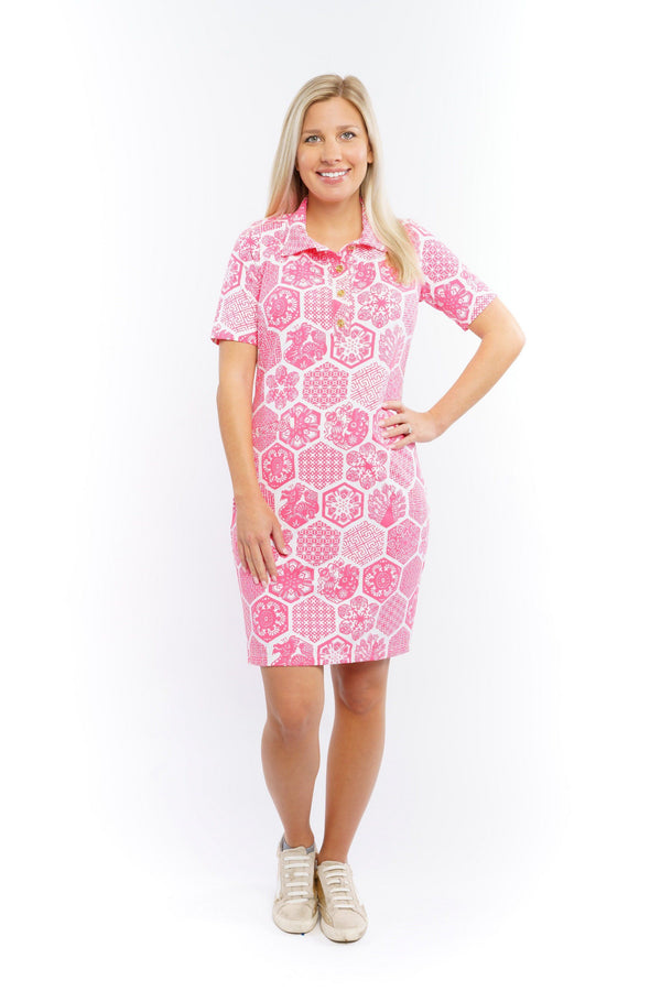 Austin Dress Chinese Paper Pink DRESSES Katherine Way Collections