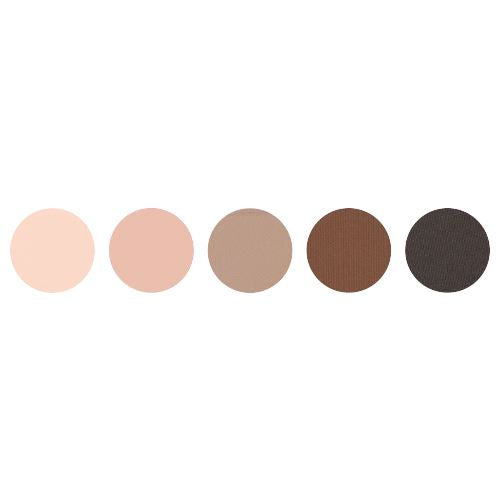 BARE IT ALL EYESHADOW PALETTE MAKEUP CARRIE WILSON MAKEUP